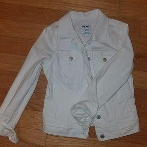 White denim jacket Xs